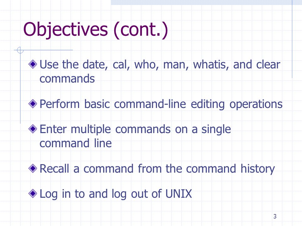 Introduction to Unix/Linux Chapter One The Essence of UNIX