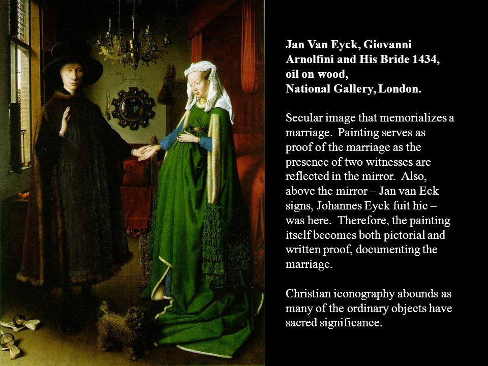 jan van eyck giovanni arnolfini and his bride 1434