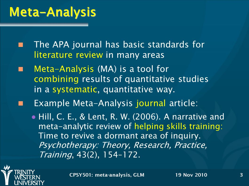 Meta analysis: made easy with example from revman.