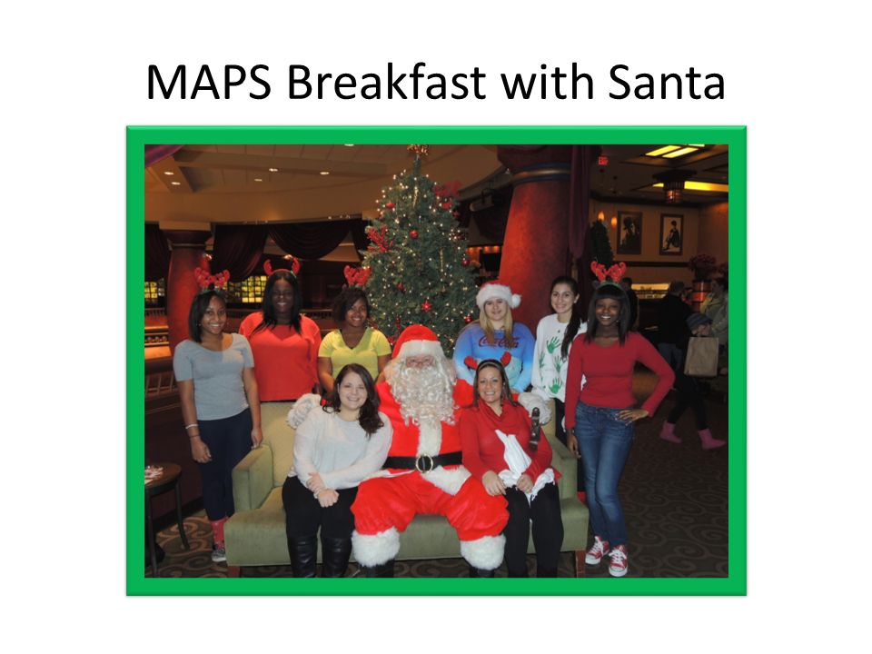 MAPS Breakfast with Santa