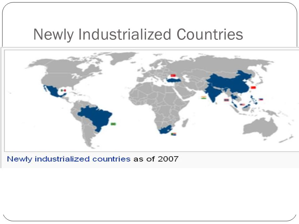 newly industrialized country definition