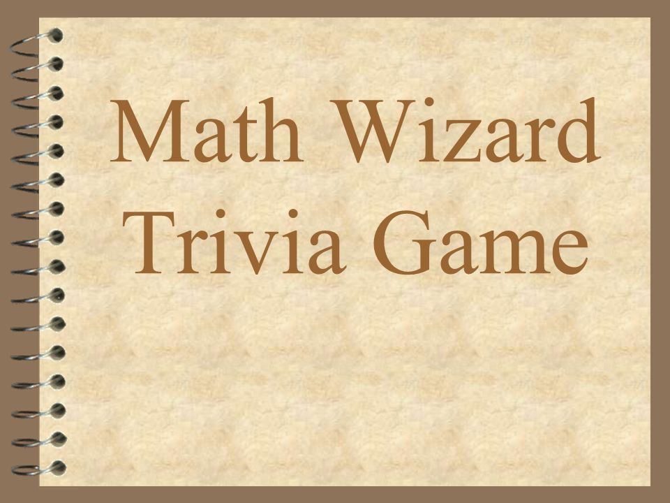 Math Wizard Trivia Game What Is Sixty Three Thousand Five Hundred