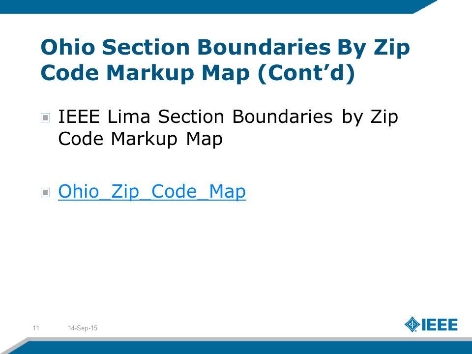 Lima Ohio Zip Code Map.Ieee Region 2 West Area Robert A Walston 2010 Ieee Region 2