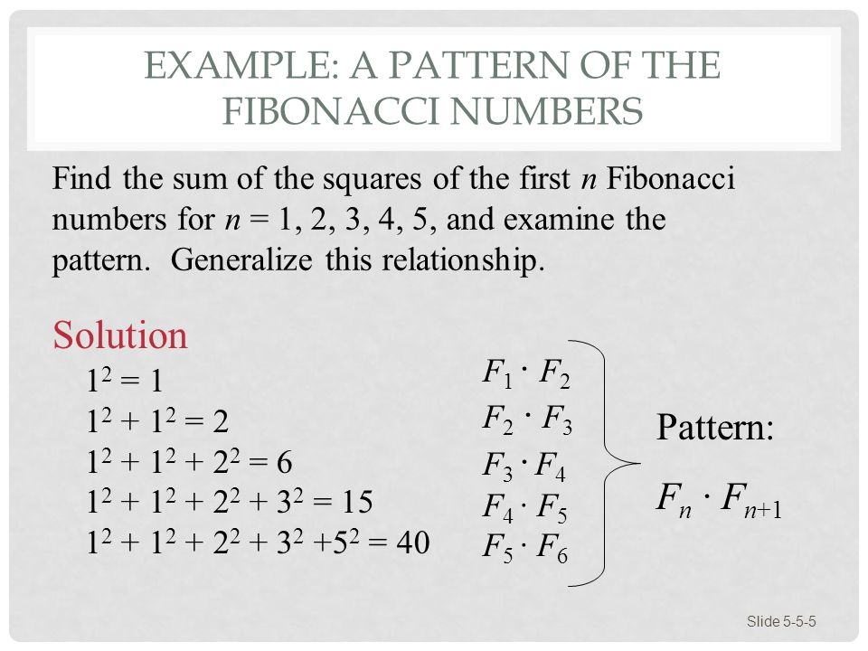 5 examples of the fibonacci sequence in plants.