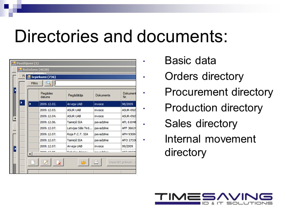 Accounting for the production company  About us  Solutions in the