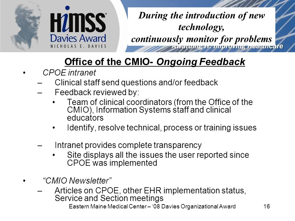 2009 Healthcare Information and Management Systems Society