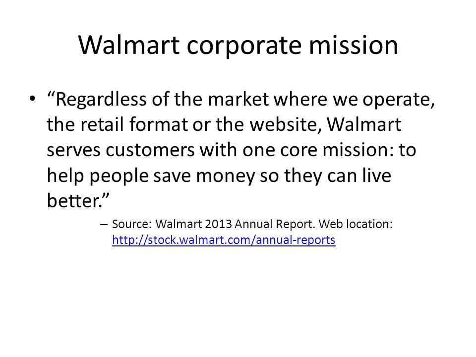 annual report of walmart 2013
