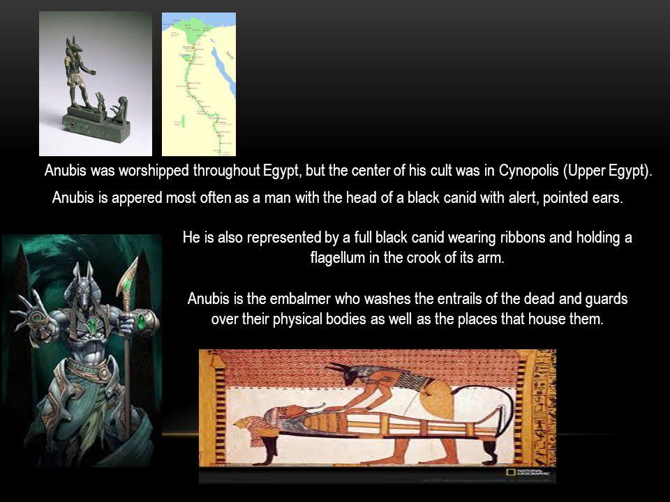 By: Elijah, Aliksru, Frank ANUBIS: THE GOD OF THE UNDERWORLD