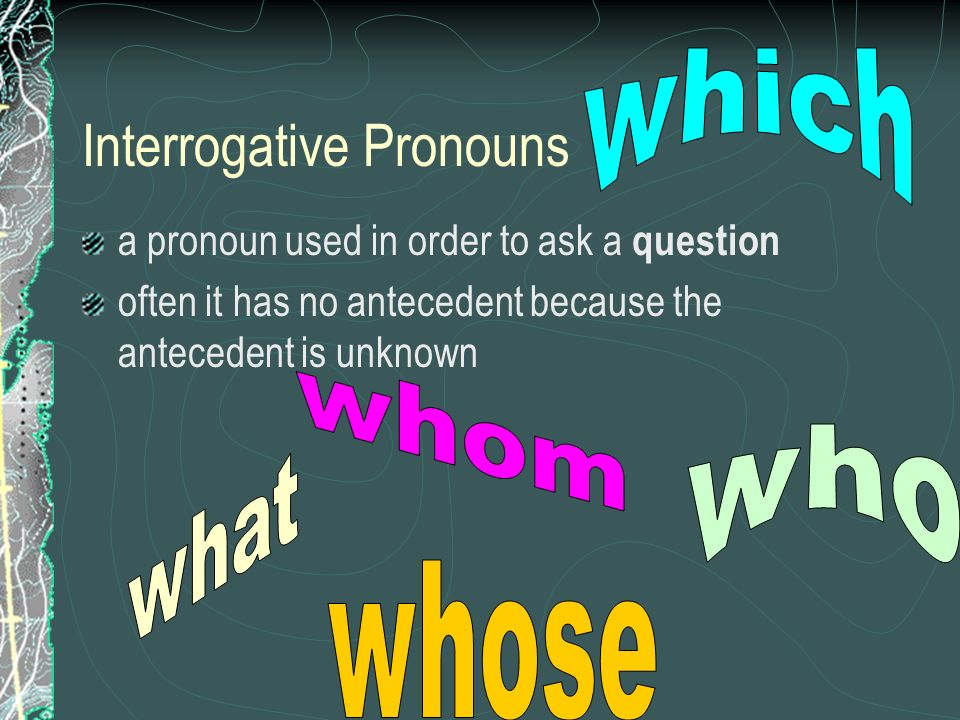 Why Use Pronouns Pronouns Stand In For Nouns So You Dont Have To
