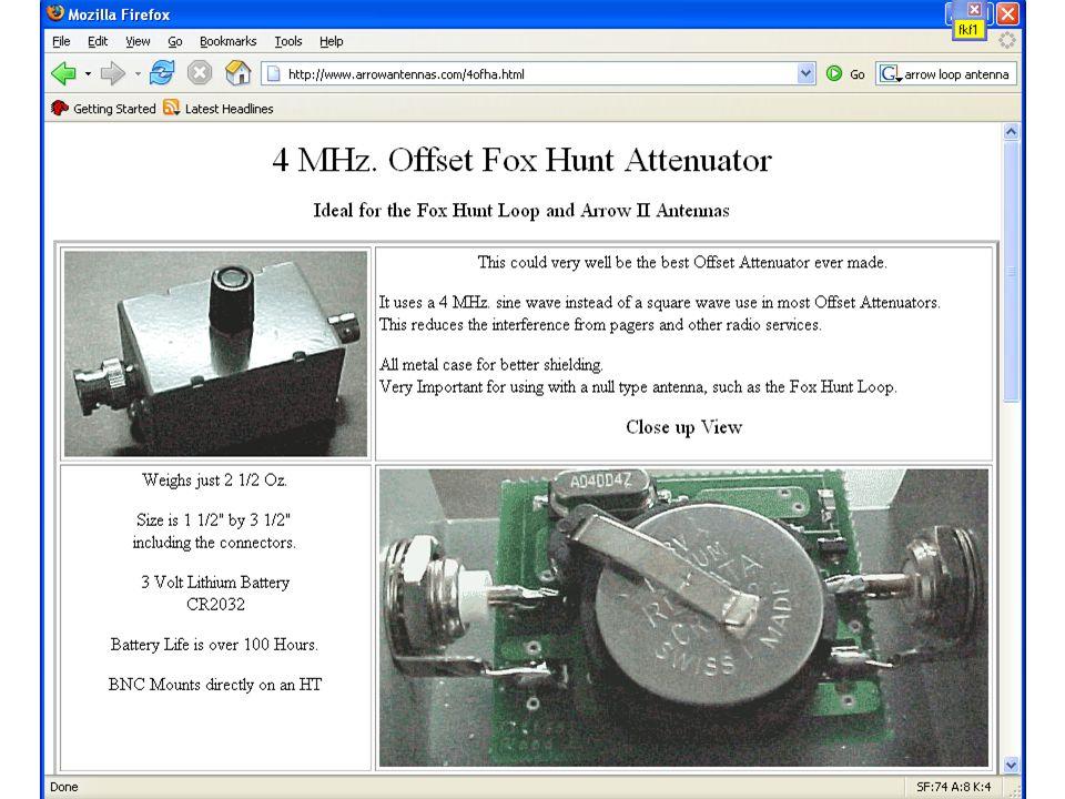 Hidden Transmitter Hunts - ppt video online download