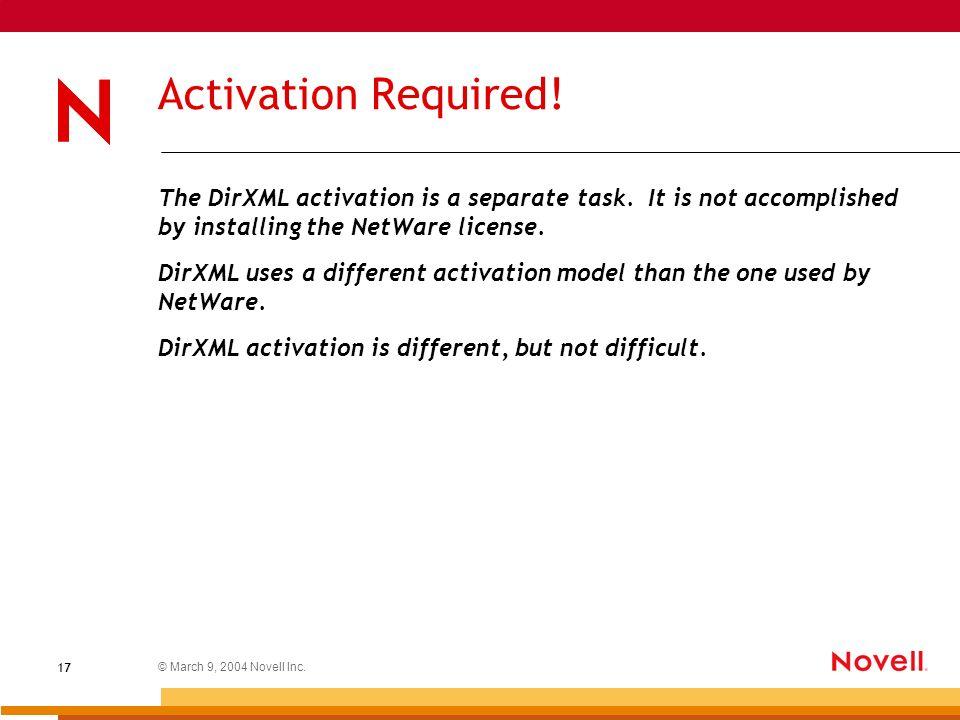 netware 5 activation key