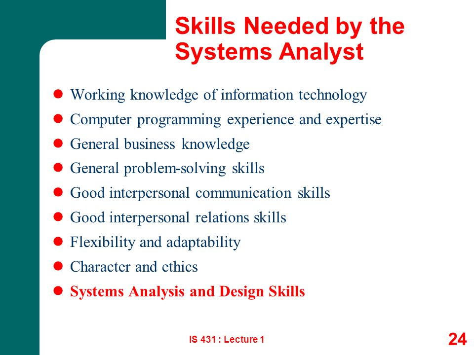 1 Systems Analysis Design System Development Environment Participants And Context Is 431 Lecture 1 Csun Information Systems Ppt Download