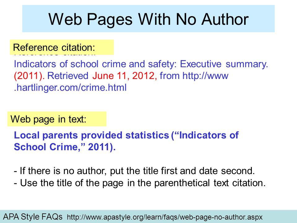 Apa Part 1 Test Citations Apa Citing Pretest Ppt
