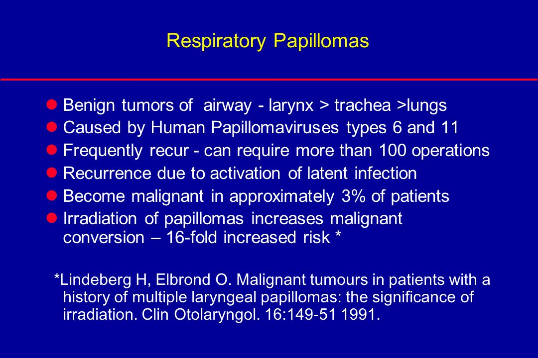 juvenile laryngeal papillomatosis ppt)