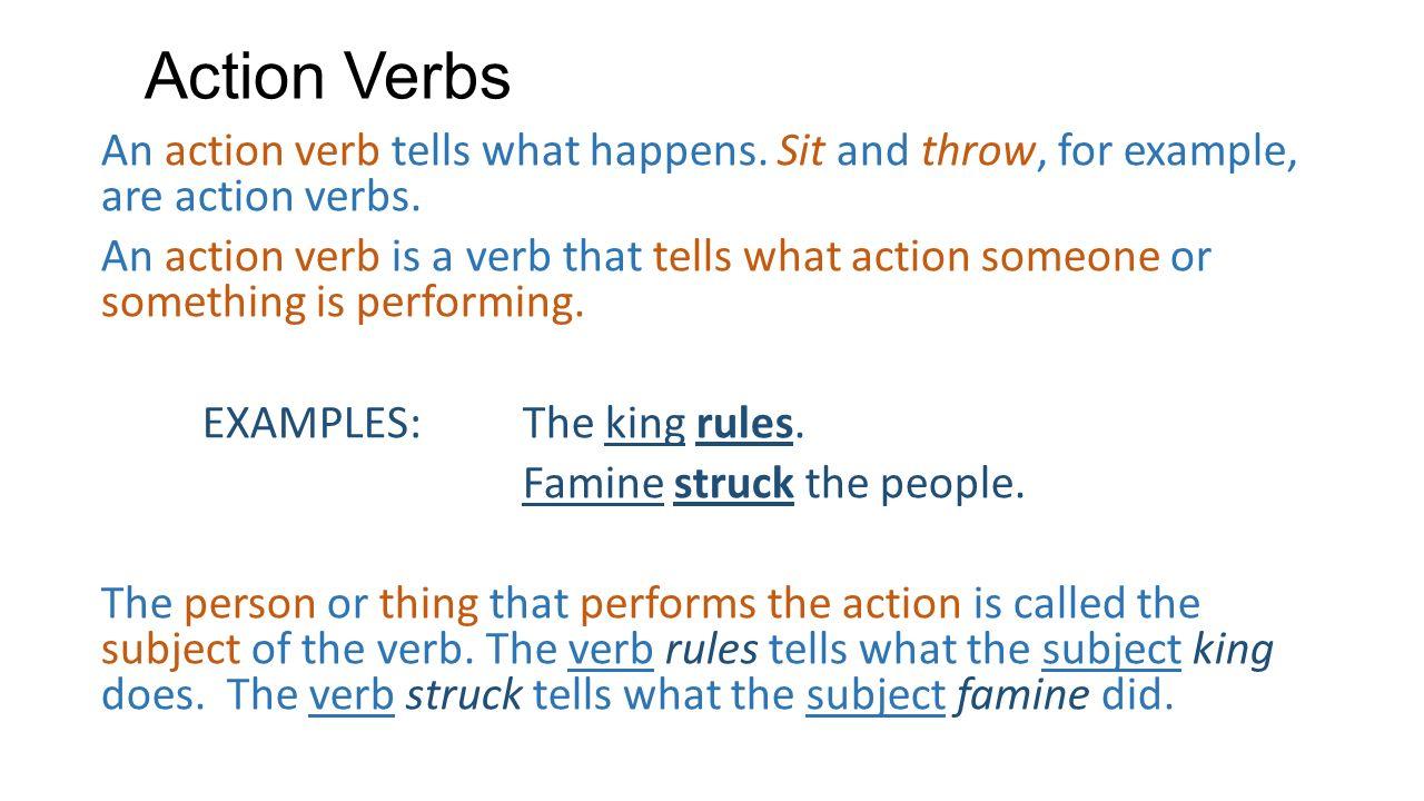 Active verbs: definition & examples video & lesson transcript.