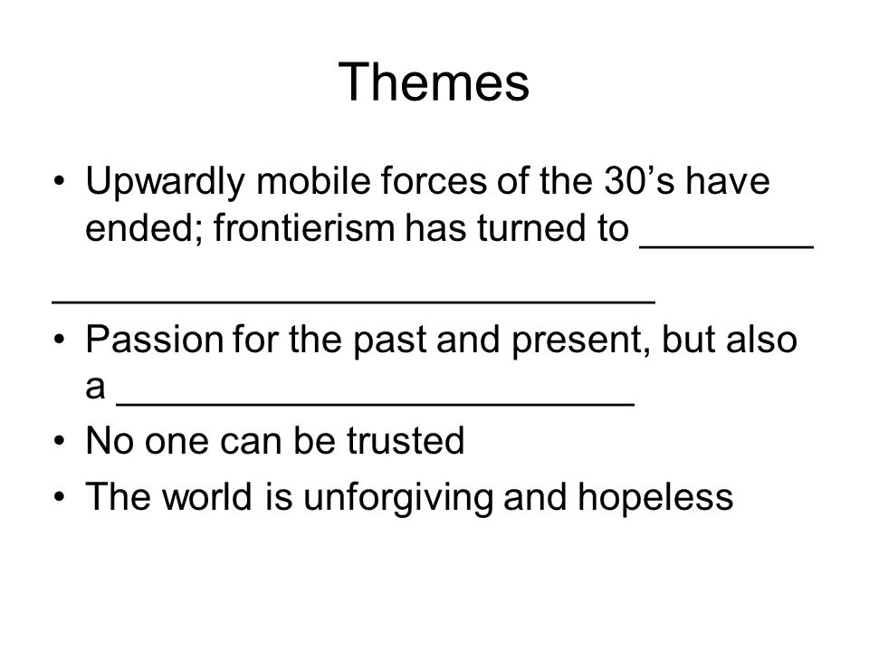 frontierism