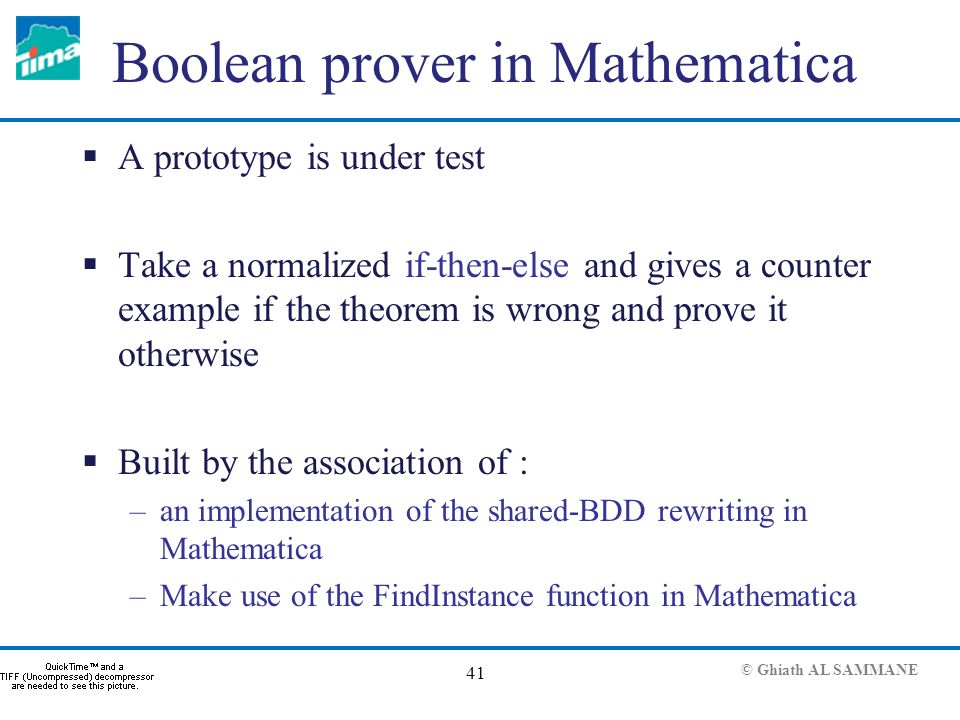 Using Mathematica for modeling, simulation and property checking of