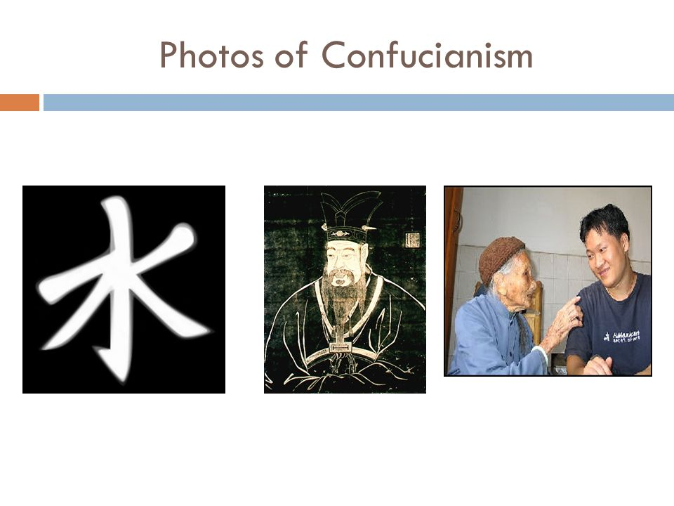 Photos of Confucianism