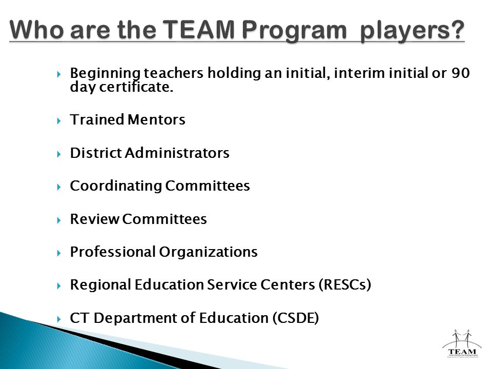 Teacher Education And Mentoring Program Overview Of Ppt Download