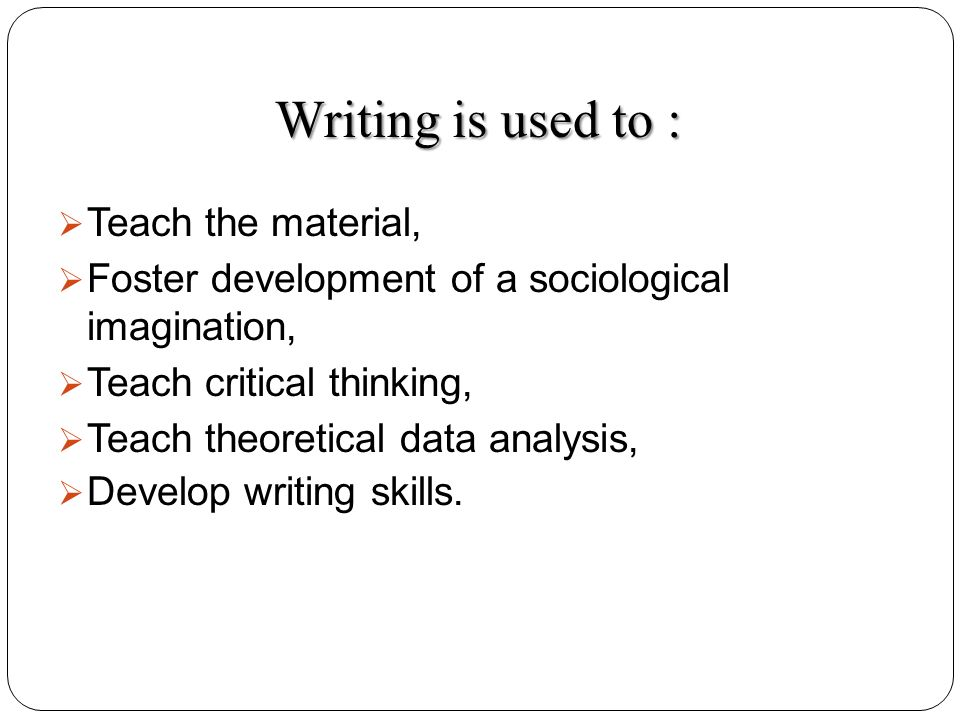 development in writing an essay Patterns of development in writing when beginning to write, it is helpful to determine the patterns of development that are most effective for your purpose and audience some general patterns of development are.