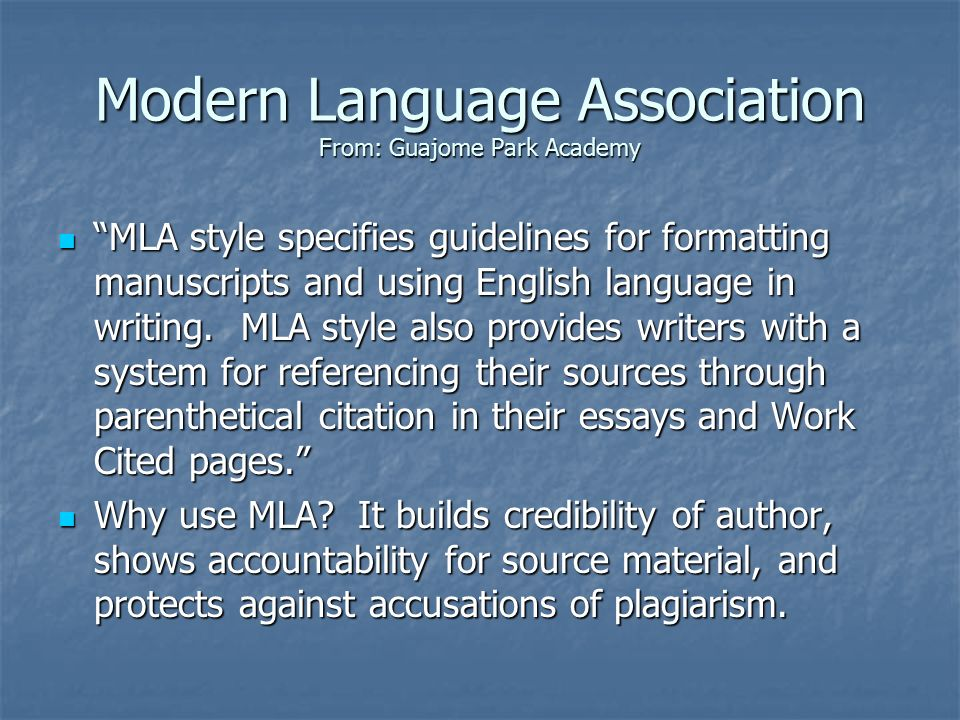 mla style dissertation E works cited page: miscellaneous sources and information below are some examples of miscellaneous sources that are often used, and have special format in mla style: if an interview is being referenced, it is important to first make the distinction between the type of interview, which falls into two categories.
