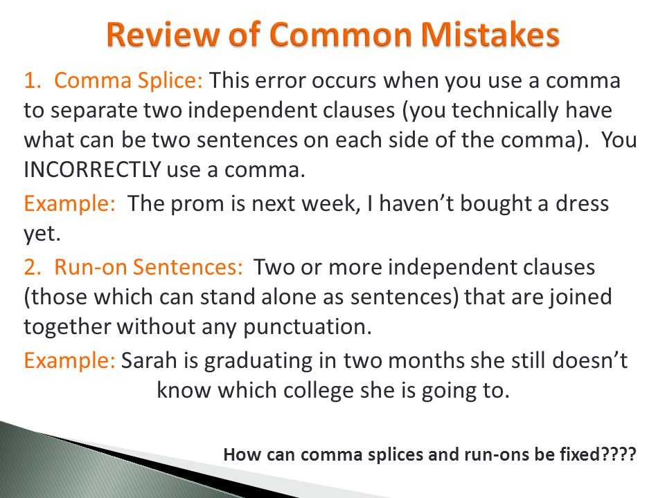identifying and correcting errors in sentences
