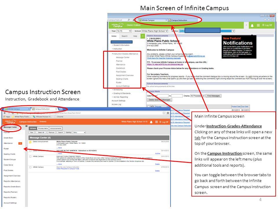 infinite campus website