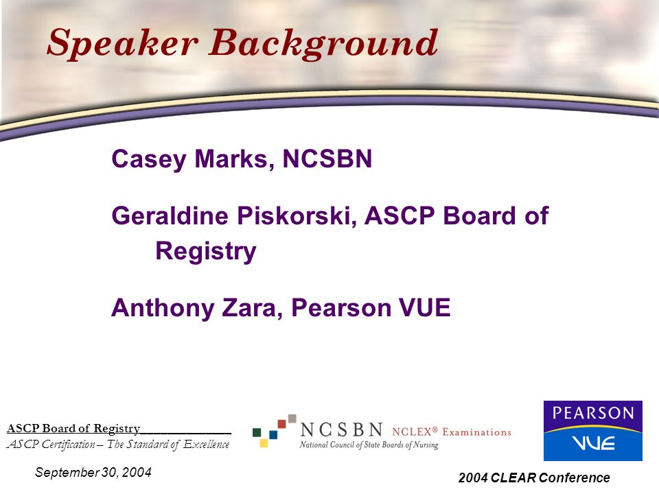 Ascp Board Of Registry Ascp Certification The