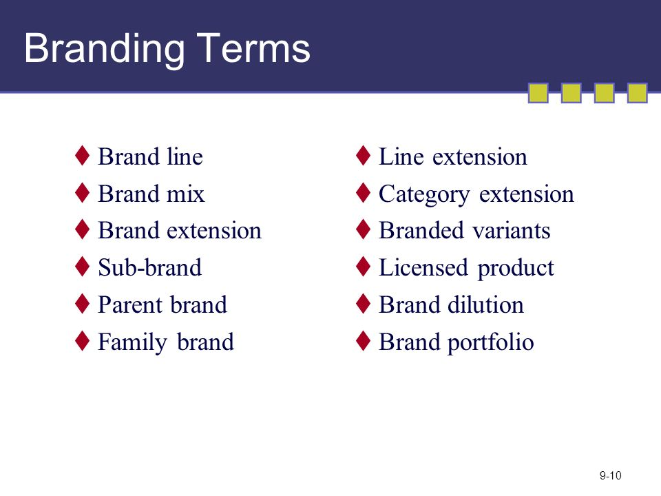 MARKETING MANAGEMENT 12 th edition 9 Creating Brand Equity