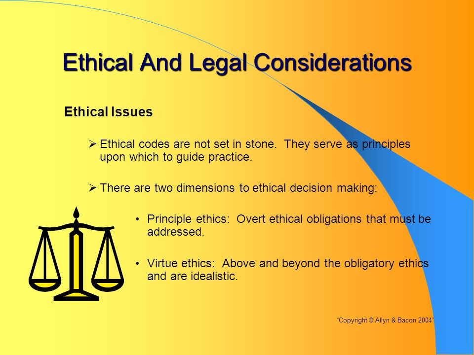what are legal and ethical issues in healthcare