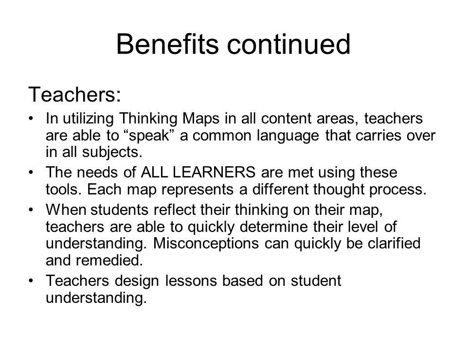 Thinking Through the Process-Using Thinking Maps to Write