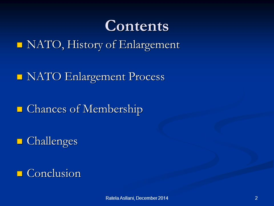 The future of NATO enlargement after the Ukraine crisis
