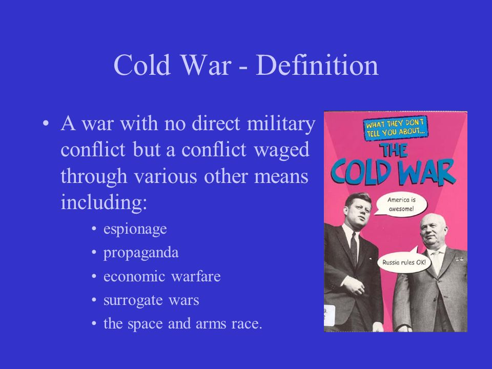 Ammco bus : United nations definition cold war