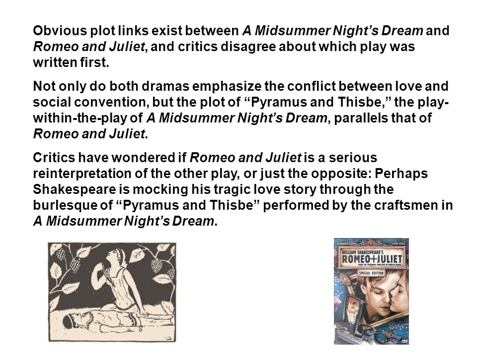 william shakespeares a midsummer nights dream essay William shakespeare was born in 1564 in stratford-upon-avon, england, a small town of about 1,500 people northwest of london john shakespeare, william's father, made his living primarily as a tanner and a glover but also traded wool and grain from time to time.