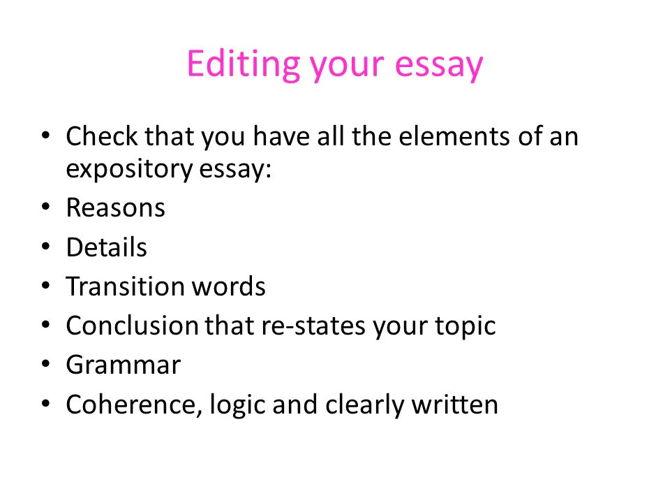 Expository Writing Expository Vs Argument Writing Q Ppt Download