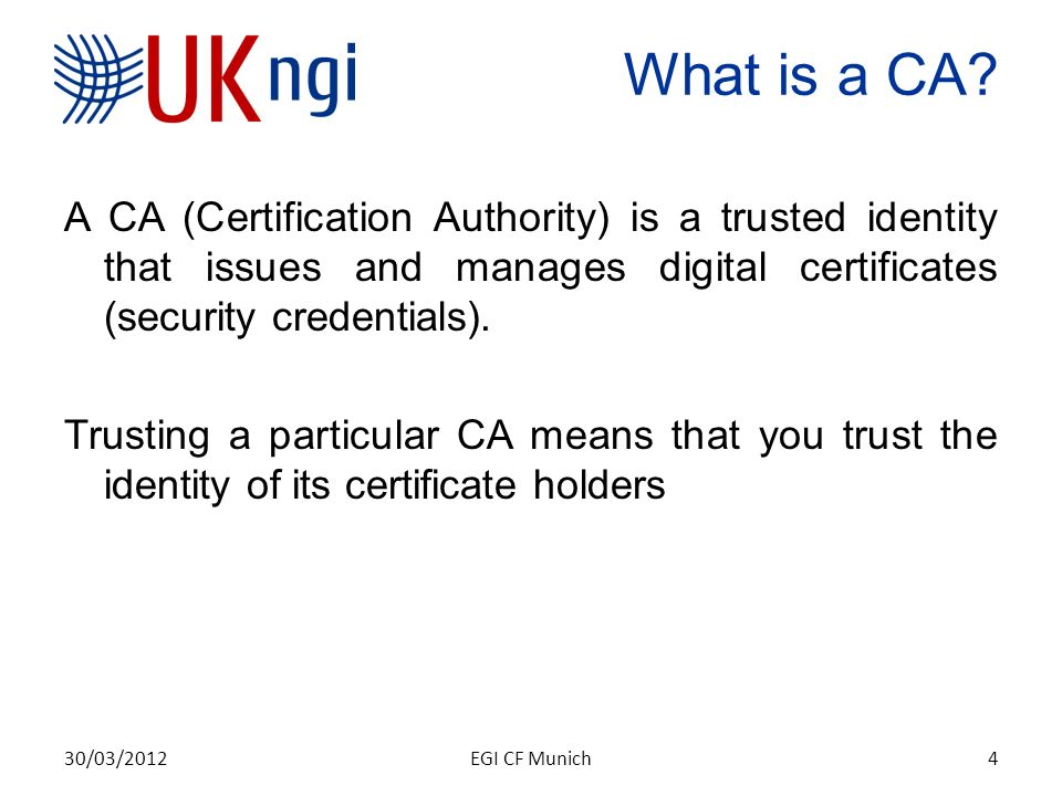Tweaking the Certificate Lifecycle for the UK eScience CA John
