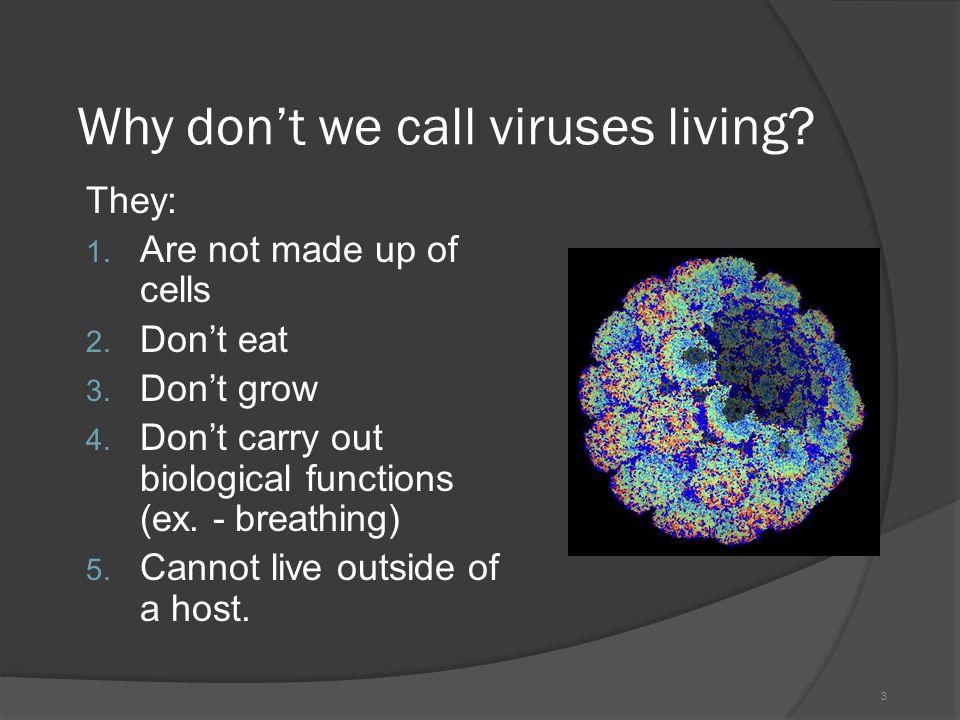 non living cells