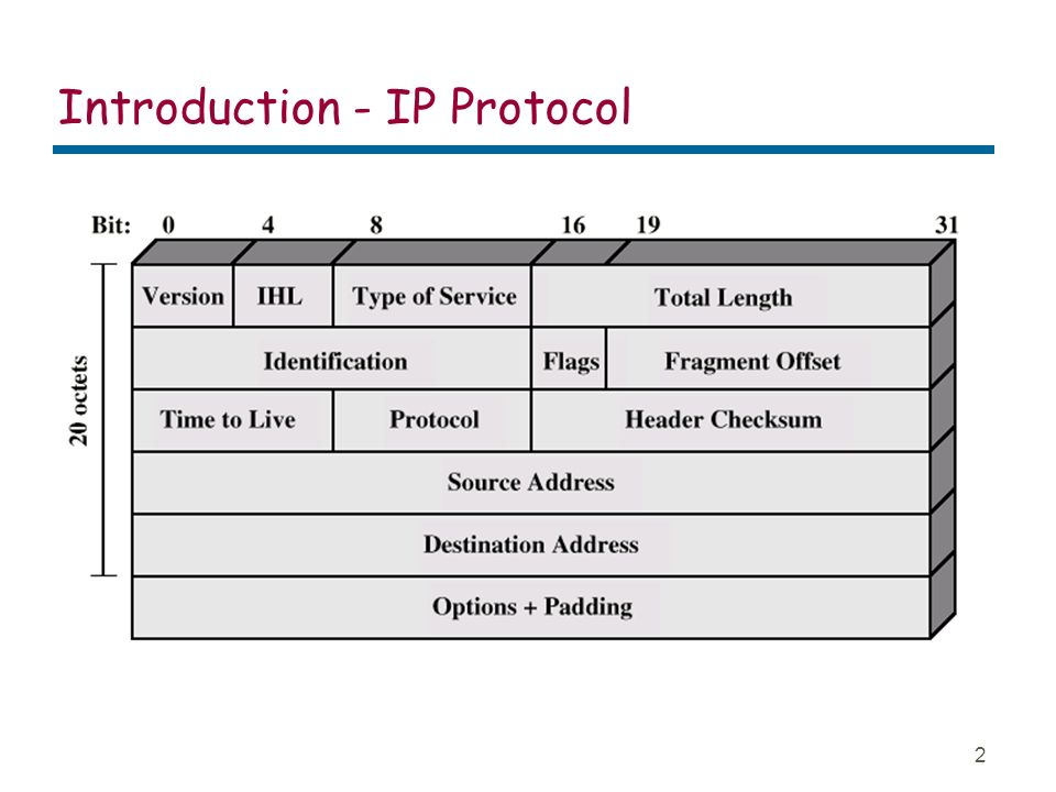1 Routing Protocols RIP and OSPF  2 Introduction - IP Protocol