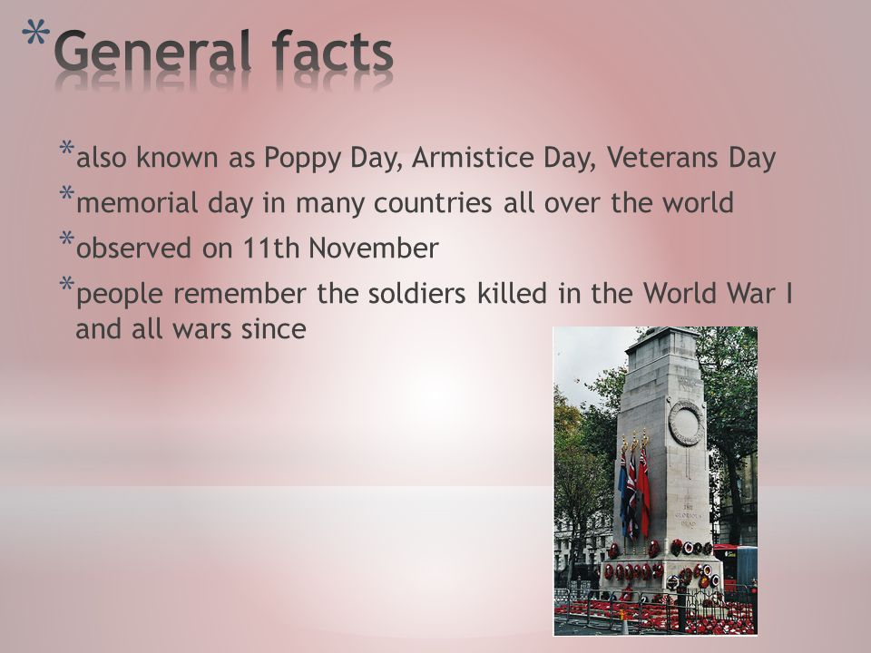 Lucie syrov general facts historical background the uk the 3 also known as poppy day publicscrutiny Gallery