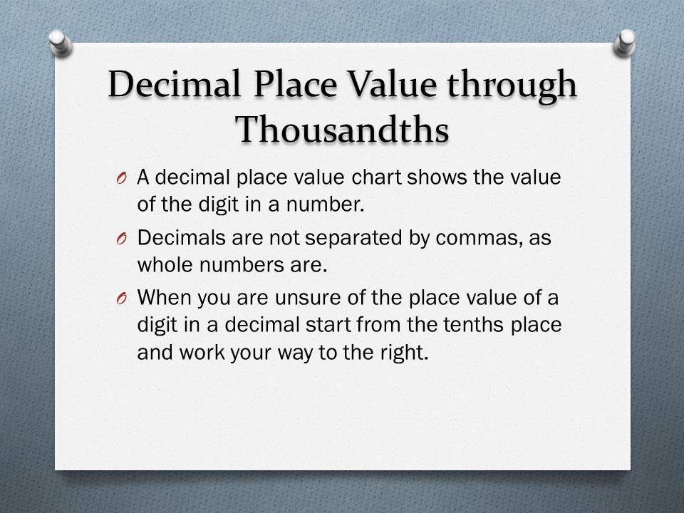 Chapter 1 2 Place Value Julie N Sheridan Stair Project May Ppt