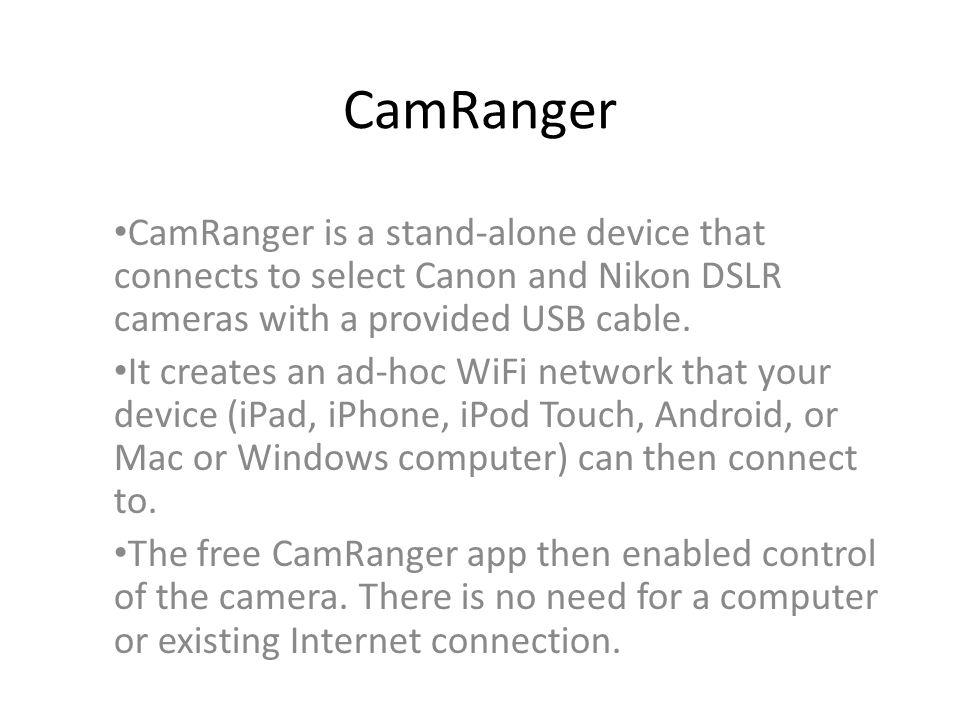 nikon camera control freeware mac