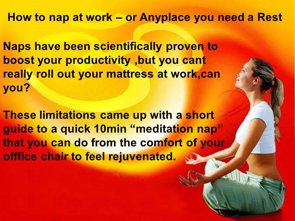 best way to do meditation