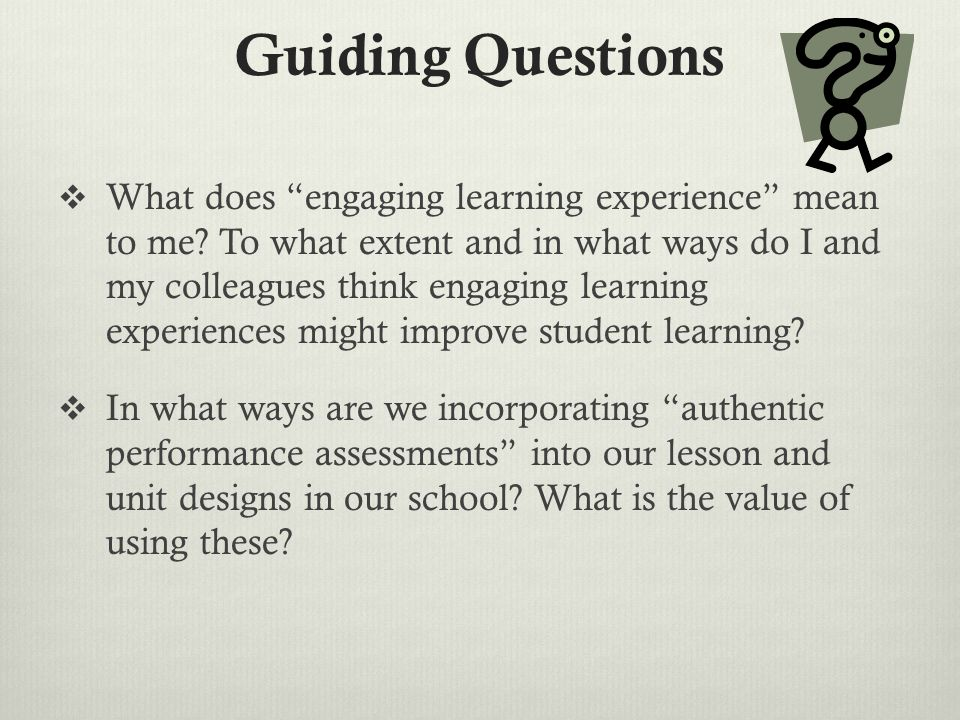 What does meaningful learning mean #1