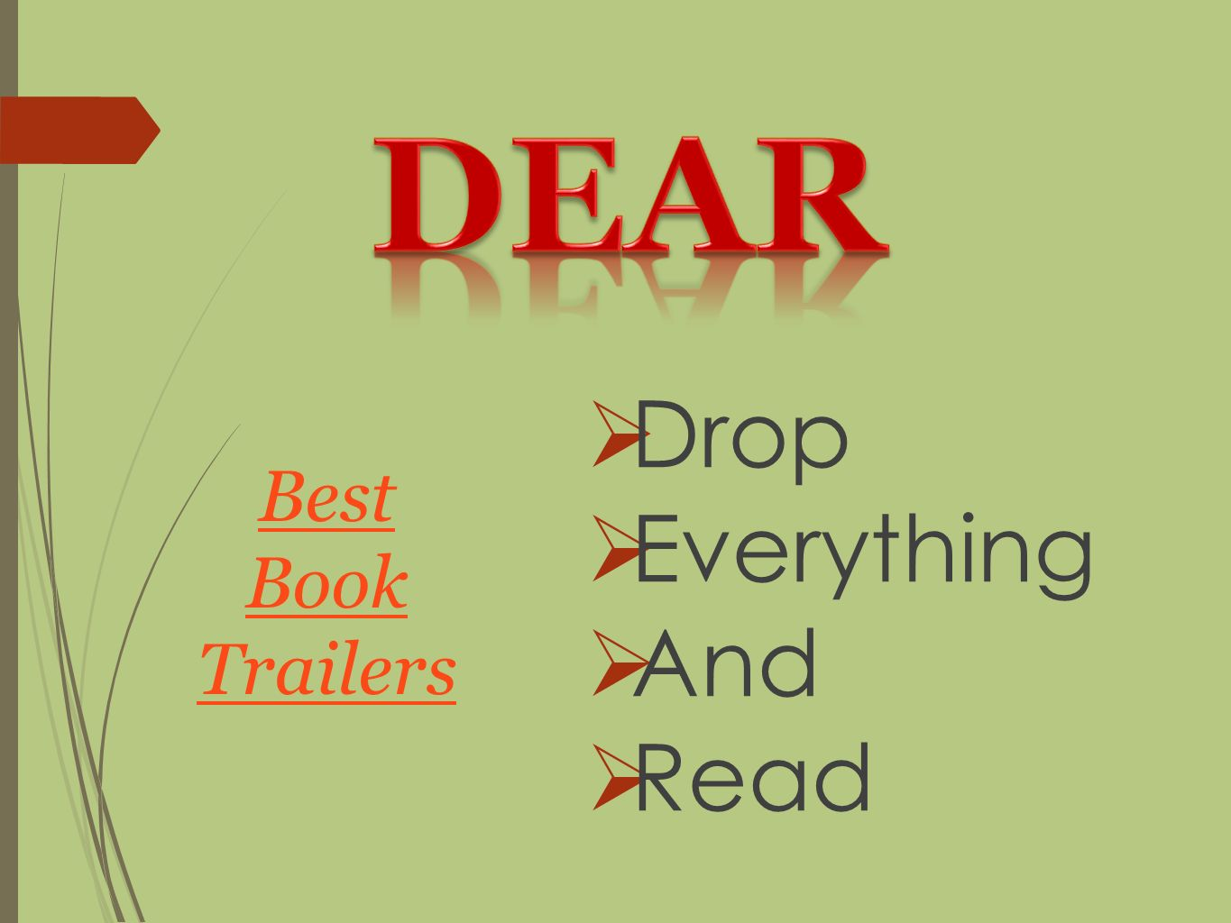  Drop  Everything  And  Read Best Book Trailers