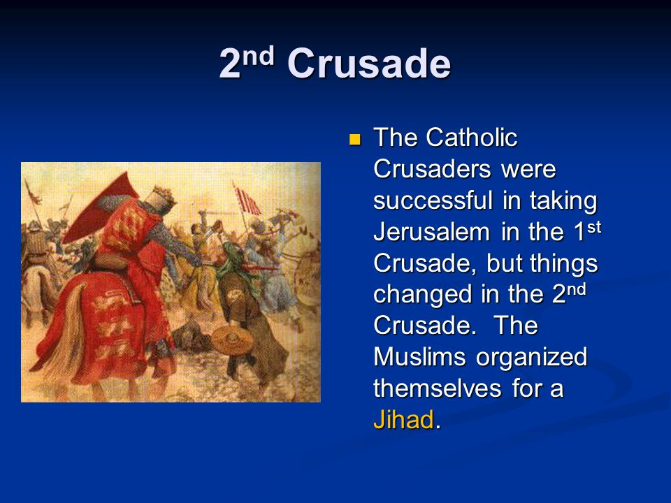 1 st Crusade The 1 st Crusade started when Alexius I asked Pope Urban II for help in fighting the Seljuk Turks (who had destroyed churches, tortured pilgrims, and marched on Constantinople).