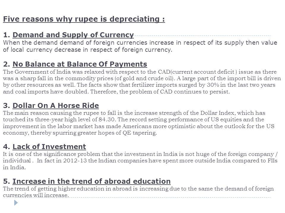 Five Reasons Why Ru Is Depreciating 1