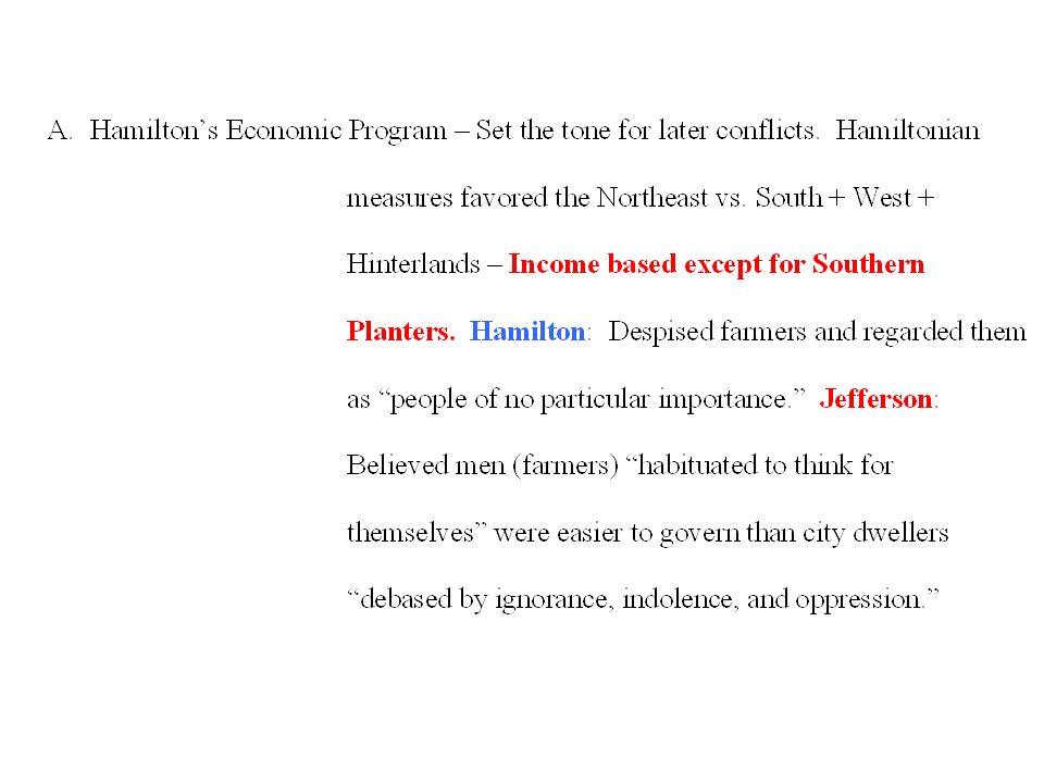 hamiltons economic program
