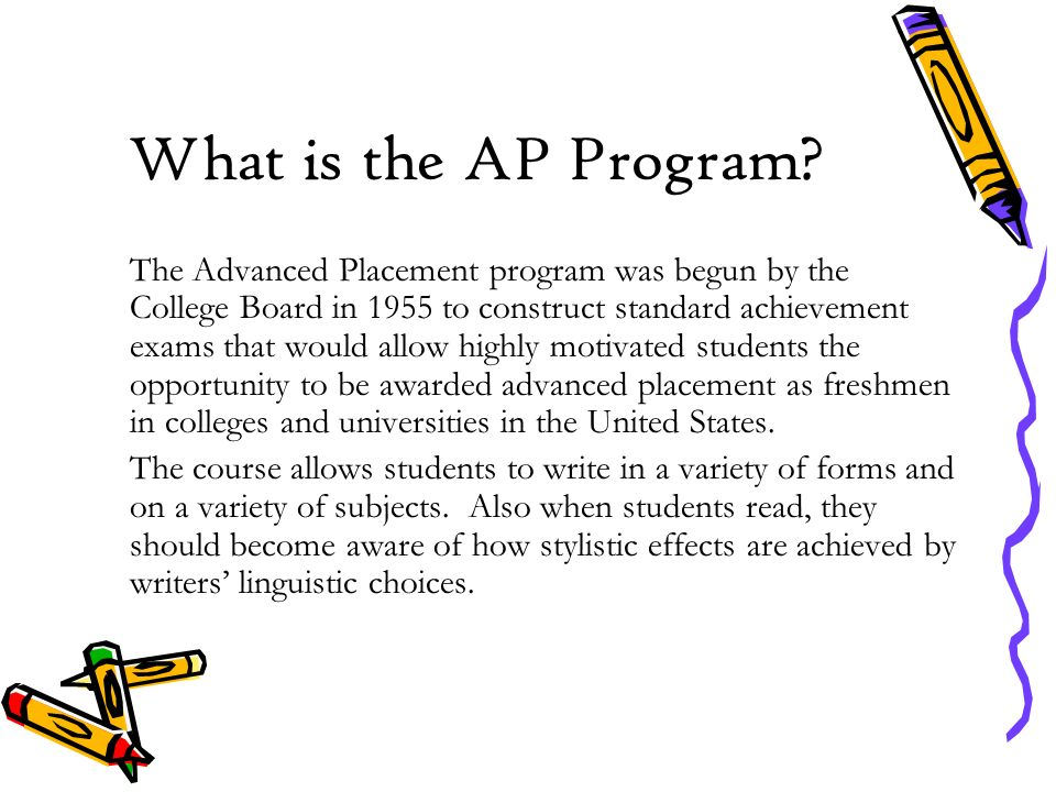 What is the AP Program.
