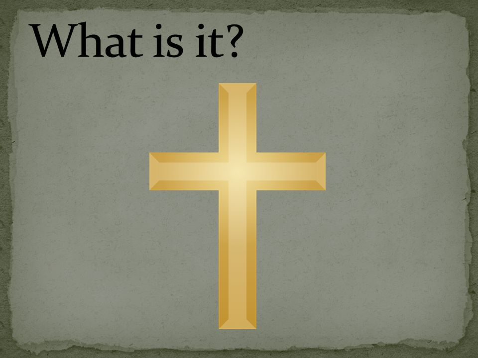 The Image Above Is The Christian Cross The Cross Is A Symbol Of The