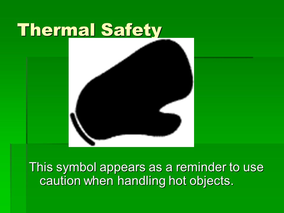 Safety Symbols Disposal Alert This Symbol Appears When Care Must Be